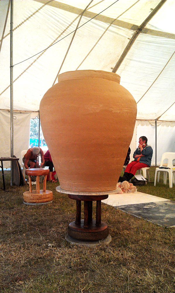 Lee Kang Hyos giant pot at Gulgung