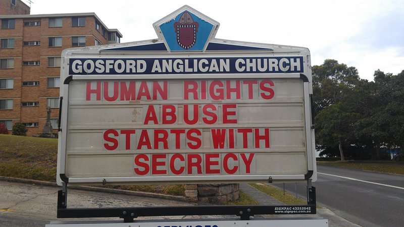 human rights abuse starts with secrecy